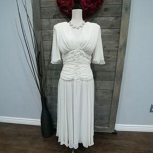 Vintage Wedding Dress by Stanley Sklar